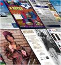 Szórólapok: Medgyesi Hangszercenter, Lilifo, Normafa Garden, La Terra Caffe, A1 Bau, Ballons, Opel, Chevrolet, Arena