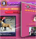 Tiger Tattoo's Kennel - Honlaptervezés: www.tgtsamstaff.com, logo-tervezés