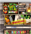 Rumpus Tiki Bar: Honlaptervezés: www.rumpus.hu