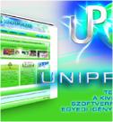 Uniprog - Honlap design: www.uniprog.hu, logo tervezés